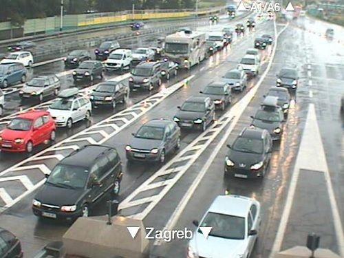 Webkamera Výjezd Zagreb Lučko Online Webkameryživěcz